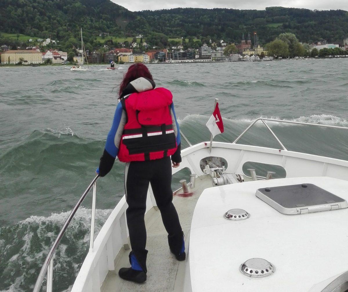 Sturm-Einsatz in Bregenz