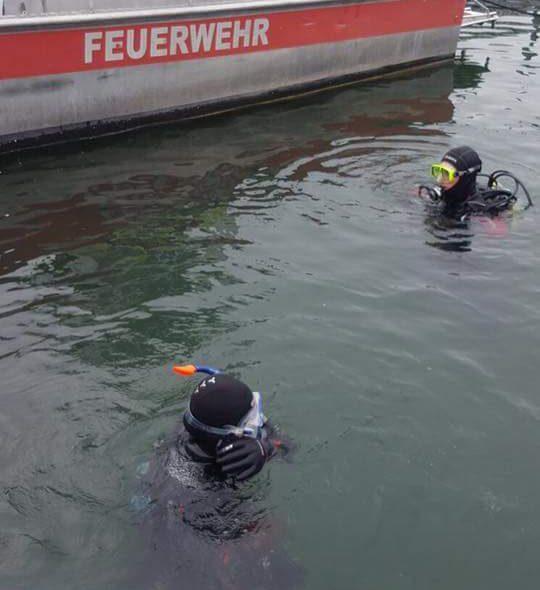 Sachgüterbergung im ÖBB Hafen
