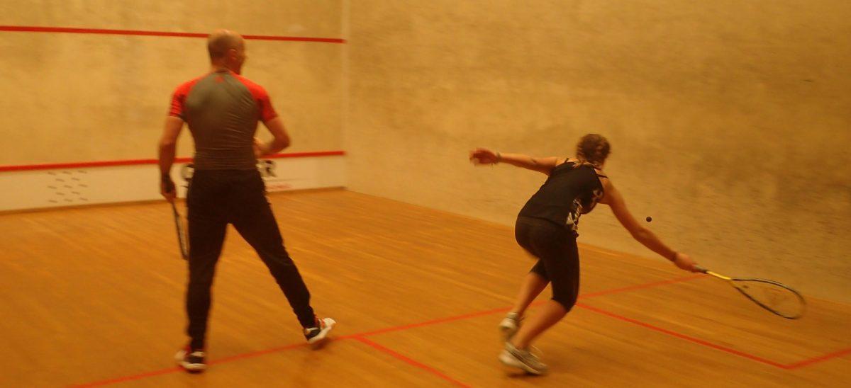 Jugendausflug in die Squashhalle Lauterach